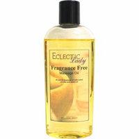Fragrance Free Massage Oil, 4 oz
