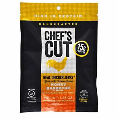 Chef's Cut Real Jerky Real Chicken Jerky Honey Barbecue - 1.25 oz