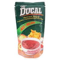 Ducal Red Beans Bag 8 oz - Frijol Rojo Bolsa Display (Pack of 12)