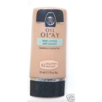 Oil of Olay Shine Control Foundation 1.1 oz , Light Honey 14 [Light Honey 14]