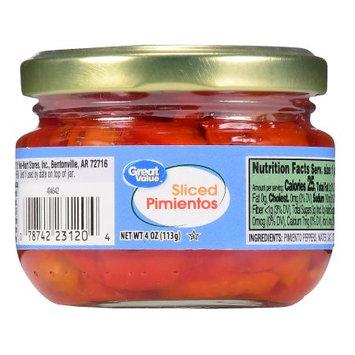 Great Value Sliced Pimientos
