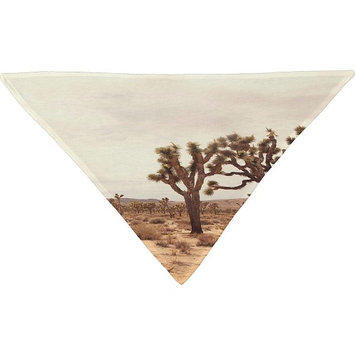 DENY Designs Catherine Mcdonald Pet Bandana Desert - California Joshua Trees - DENY Designs Pet Bags