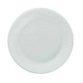 Dart 7PWCR Non-Laminated Foam Dinnerware, Plates, 7