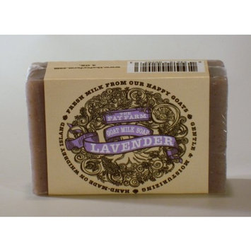 The Fay Farm's Lavender Goat Milk Bar Soap - 4 Oz.