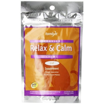 Tomlyn Relax & Calm Chews Medium and Large Dogs [Small Dog & Cat]