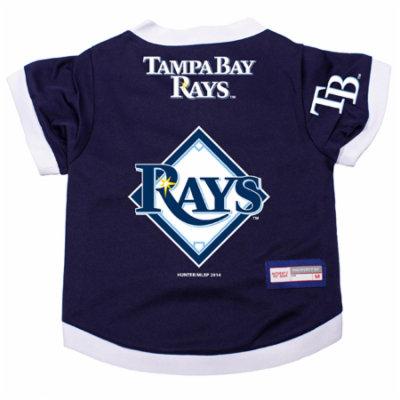 Tampa Bay Rays Dog Pet Premium Alternate Jersey XL