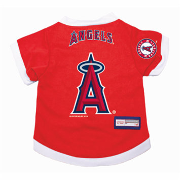 Los Angeles Angels Dog Pet Premium Alternate Jersey SMALL