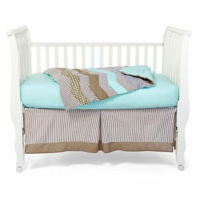 Trend Lab Cocoa Mint 3-pc. Baby Bedding