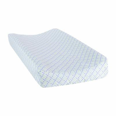 Trend Lab Forest Tales Plaid Changing Pad Cover