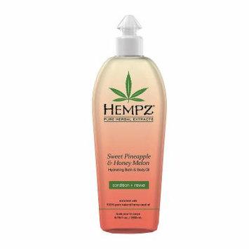 Hempz Sweet Pineapple & Honey Melon Bath & Body Oil - 6.76 oz.