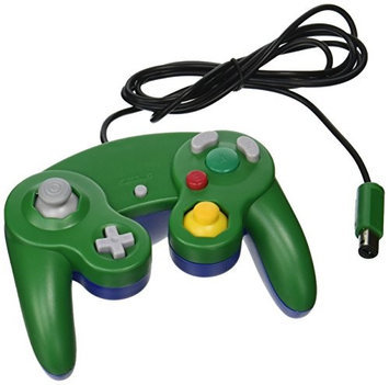 TTX Tech NXGC-542 Gamecube Controller for Wii Wired Green-Blue