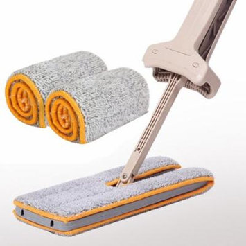 DZT1968 Double Sided Non Hand Washing Mop Accessories Dust Push Mop Cloth Clean Tool