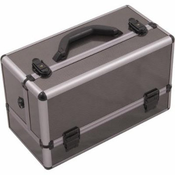 Hiker Basilica Makeup Case Professional Nail Travel Organizer Box, Gray Carbon, 7 Pound
