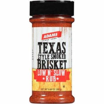 Adams Texas Style Smoke Brisket Low and Slow Rub, 9.89 oz