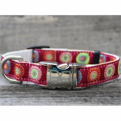 Diva Dog UBS247 Sahara Rose Dog Collar - Teacup Sized