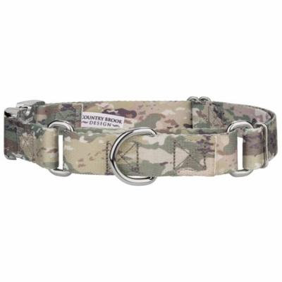 Country Brook Petz™ Mountain Viper Camo Martingale with Premium Buckle