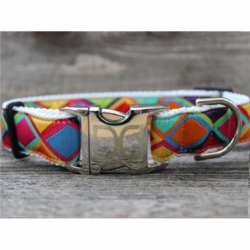 Diva Dog UBS272 Tanzania Bright Dog Collar - Extra Large Sized