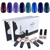Elite99 Soak Off UV LED Gel Nail Polish 8 Colors Lacquer Manicure Pedicure Nail Art Decoration C009