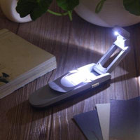 Portable Bright Clip Adjustable LED Book Desk Light Reading Booklight Lamp