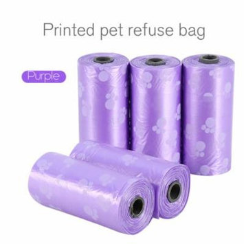 Poop Bags Dog Waste Bags, Earth Friendly, Leak-Proof Pet Poop Carrier Bag Biodegradable Garbage Bags,10 Rolls/150 bags with Dispenser