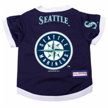 Seattle Mariners Dog Pet Premium Alternate Jersey XS