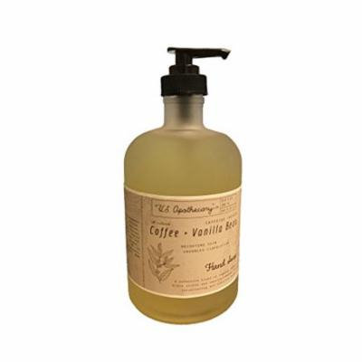 U.S. Apothecary Coffee and Vanilla Bean Hand Soap