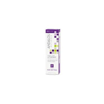 Andalou Naturals, Lip Remedy, Age Defying, Argan + Mint, .4 fl oz (12 ml) (Pack of 4)
