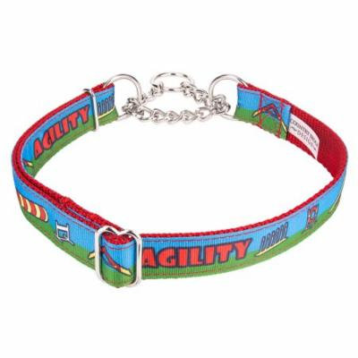 Country Brook Petz™ Agility Course Ribbon Half Check Collar