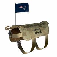 New England Patriots Dog Pet Premium Tactical Vest Harness w/ Team Flag XL/BIG