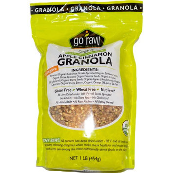 Go Raw, Organic Granola, Apple Cinnamon, 1 lb (pack of 3)