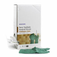 McKesson Perry Performance Plus Surgical Glove Sterile Dark Green Powder Free Neoprene Case of 400