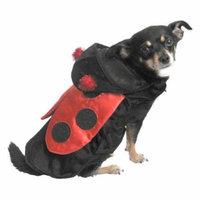 Ladybug Dog Costume Red & Black Lady Bug Pet Outfit