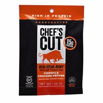 Chef's Cut Real Jerky Real Steak Jerky Chipotle Cracked Pepper - 1.25 oz