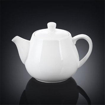 Wilmax 994003 1000 ml Tea Pot White - Pack of 18