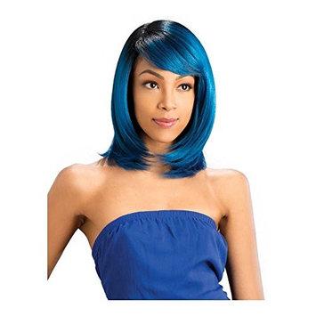 Vella Vella wig Style Molly Heat Resistant Premium Fiber (1B Off Black)