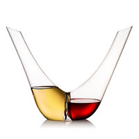 Rogaska Duo Decanter-CLEAR-One Size