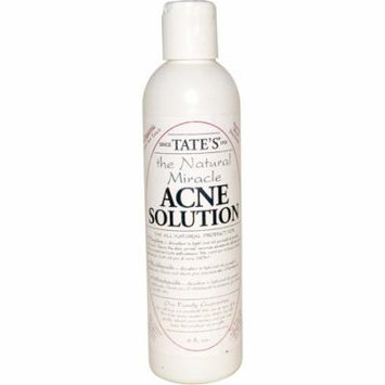 Tate's, The Natural Miracle Acne Solution, 8 fl oz(pack of 4)