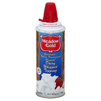 Dean Foods Meadow Gold Sweetened Ultra-Pasteurized Original Dairy Whipped Topping, 6.5 oz