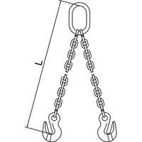 PEWAG AUSTRIA GMBH 7G120DOG/5 Chain Sling, G120, DOG, Alloy Steel, 5 ft. L