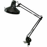 Lorell Dual Bulb Architect-style Magnifier Lamp, Black