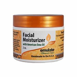 Emu Oil Facial Moisturizer emulate Natural Care 2 oz Cream