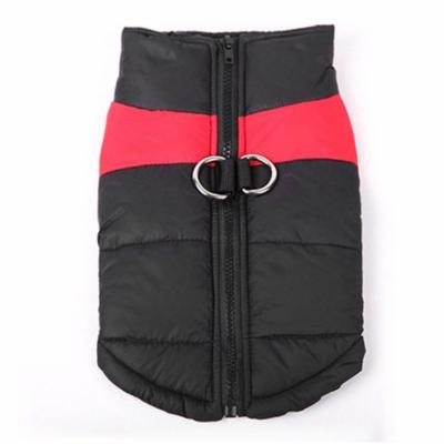 Winter Dog Vest Fashion Pet Down Jacket Warm Cotton Dog Clothes For Most Dogs,Red