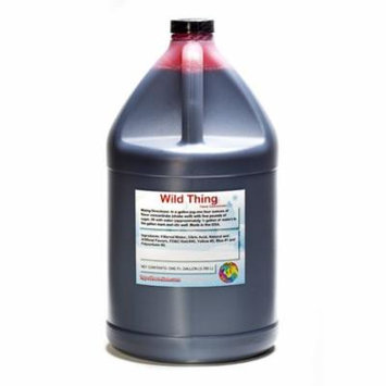 Wild Thing Shaved Ice and Snow Cone Flavor Concentrate Gallon Size (128 Fl Oz)