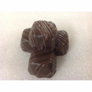 Asher's Vanilla Caramel Dark Chocolate Candy Caramels 1 pound