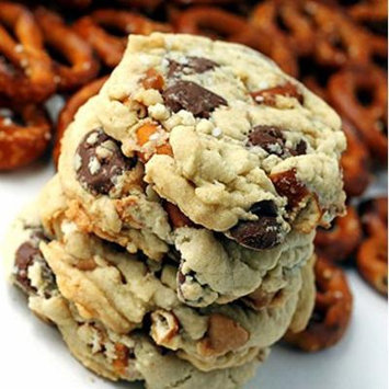 Salted Caramel Chocolate Peanut Butter Chip Cookies (12) AMAZING Cookie Individually Wrapped Boxed