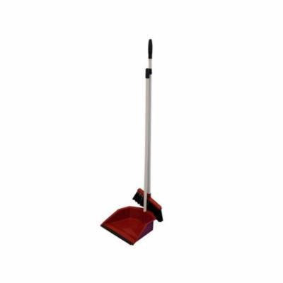 Bulk Buys OD469-8 Broom and Dustpan With Handle Set