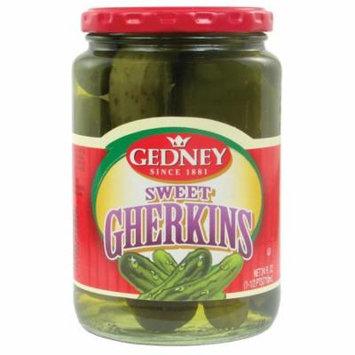 GEDNEY SWEET GHERKINS 24 OZ