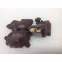 Asher's Cashew Caramel Pattie Dark Chocolate Candy 1 pound