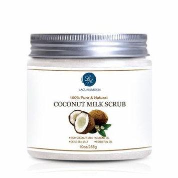 Coconut Milk Scrub Body Scrub and Facial Scrub for Deep Cleansing, Exfoliation, Pore Minimizer 10oz
