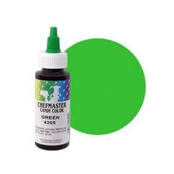 Chefmaster Candy Coloring - Green - 2 oz